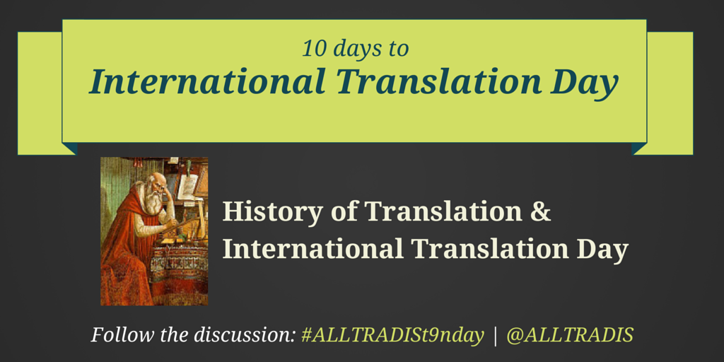 Most Translated Texts | #ALLTRADISt9nDay 8 1